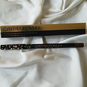 Cynthia Rowley eyeliner in matte brown